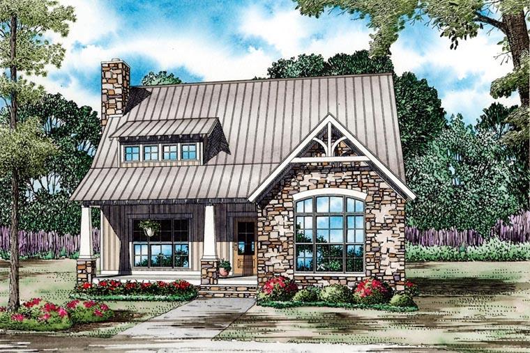 House Plan 82086 Elevation