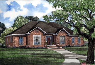 Traditional House Plan 82093 Elevation