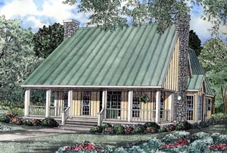 Cape Cod Country House Plan 82095 Elevation