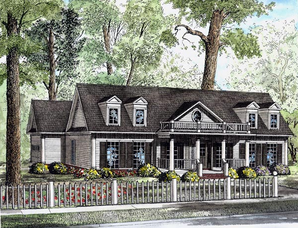 Country House Plan 82104