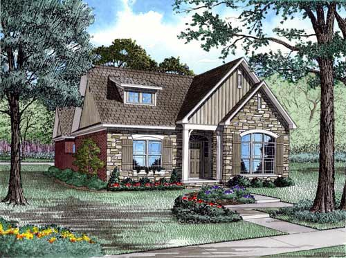 Country House Plan 82140 Elevation