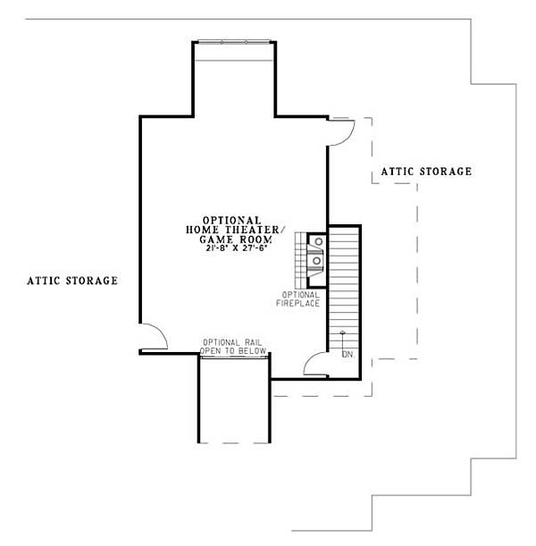 European House Plan 82145 with 4 Beds, 4 Baths, 3 Car Garage Picture 1