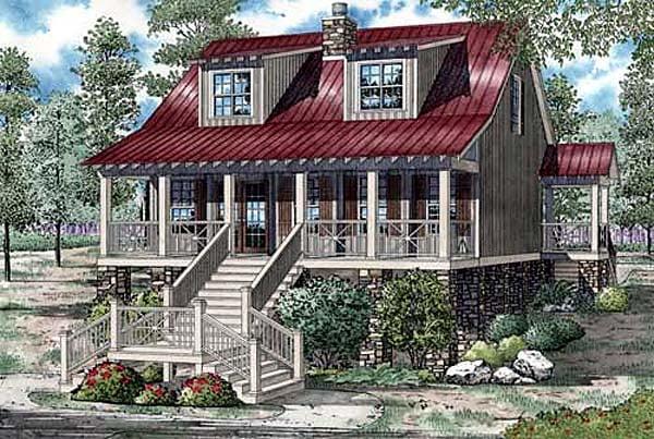 Coastal House Plan 82152 Elevation