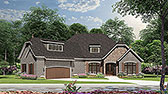 Plan Number 82166 - 2408 Square Feet