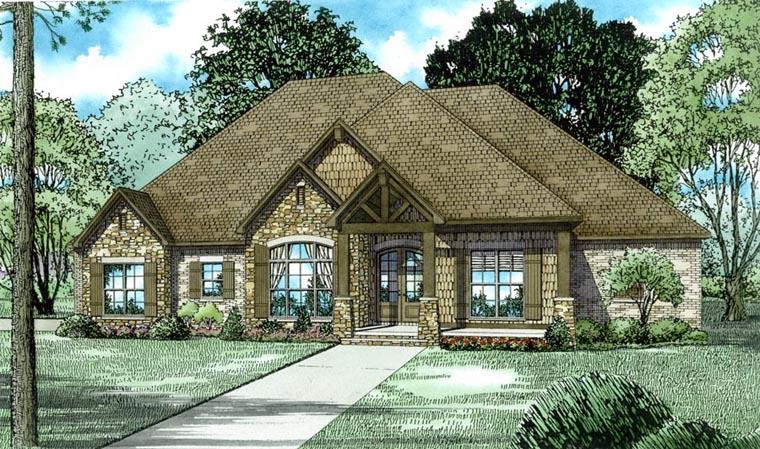 Family home plans 82162b.