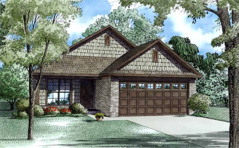 House Plan 82181 Elevation