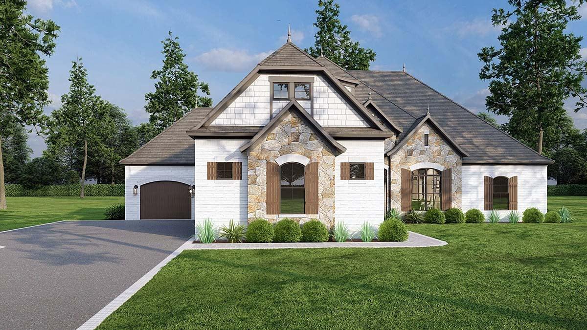 House Plan 82184 Elevation