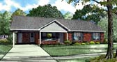 Plan Number 82200 - 1166 Square Feet