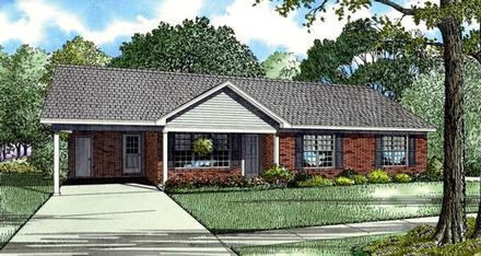 House Plan 82200