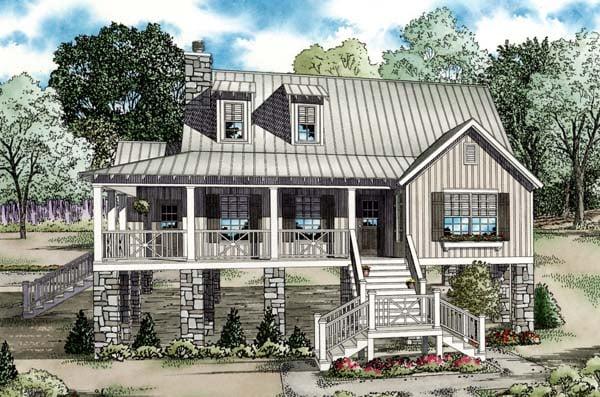 Southern House Plan 82202