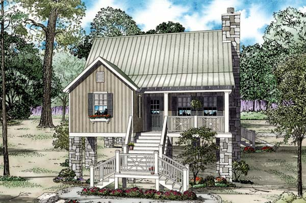 House Plan 82204 Elevation