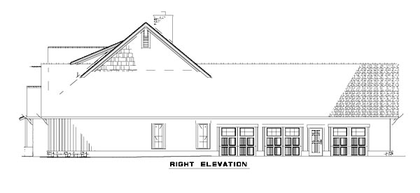House Plan 82216 with 4 Beds, 4 Baths, 3 Car Garage Picture 2