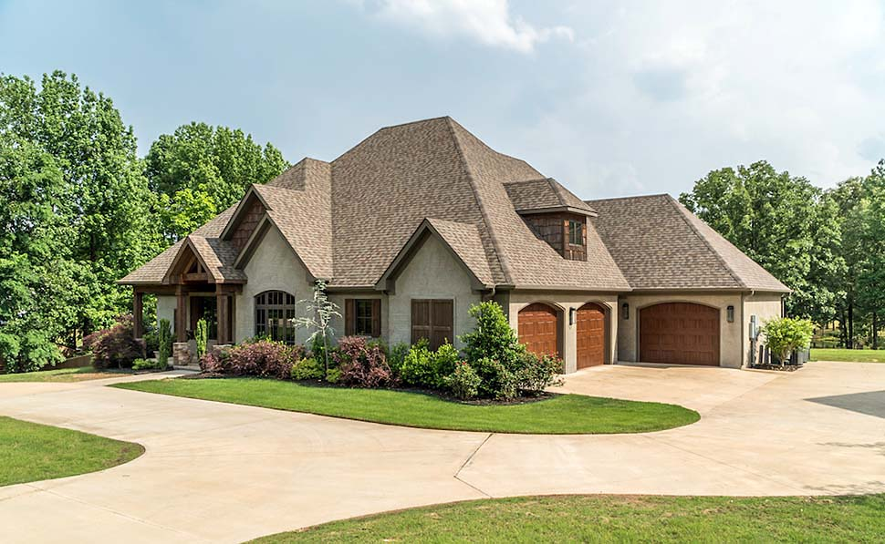 European Style House Plan 82230 With 2470 Sq Ft 4 Bed 3