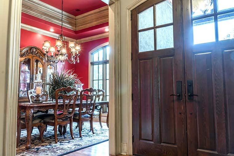 Craftsman European House Plan 82230
