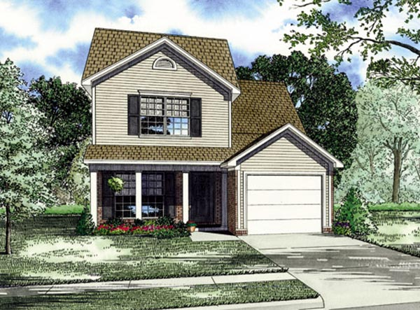 Traditional House Plan 82249 Elevation