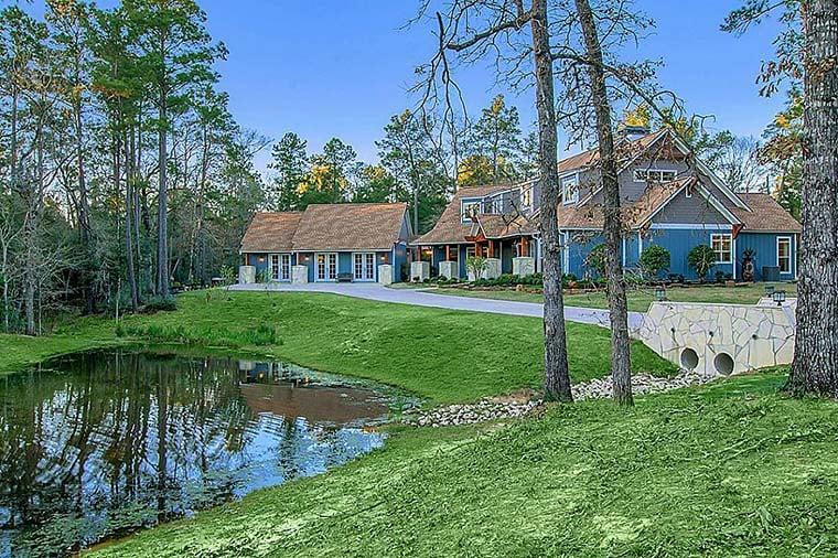 Craftsman European Tuscan House Plan 82261