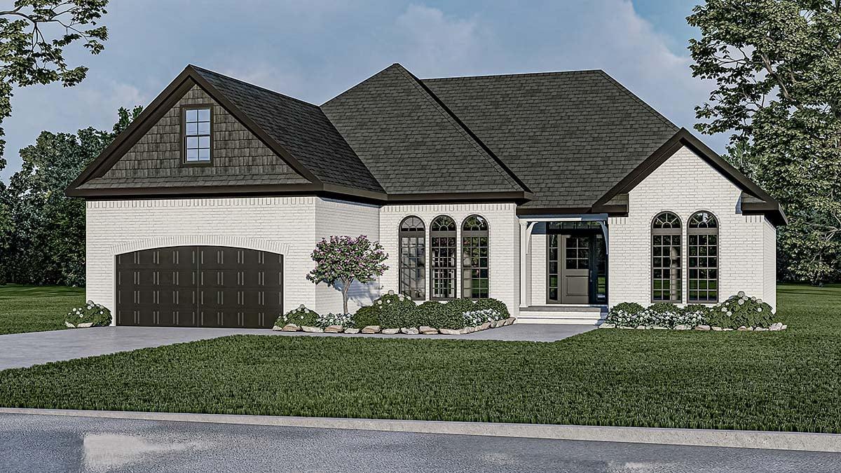 House Plan 82278 Elevation