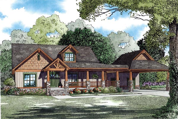 House Plan 82295 Elevation