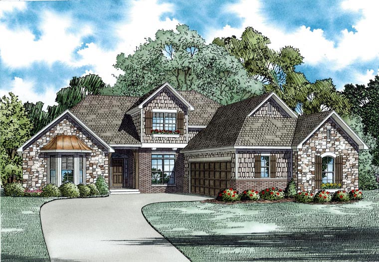 House Plan 82299 Elevation