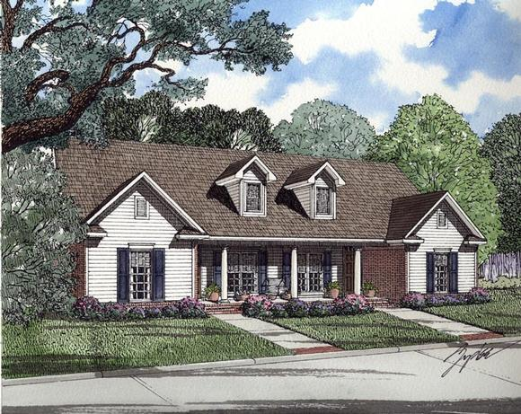 Multi-Family Plan 82304 with 6 Beds, 4 Baths Elevation