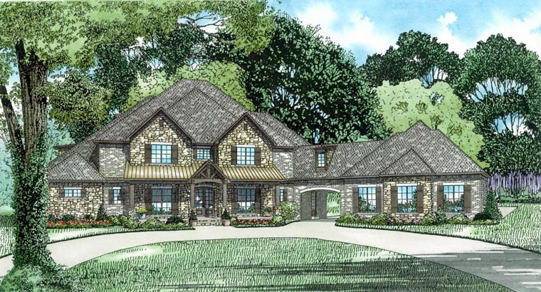 House Plan 82310 Elevation