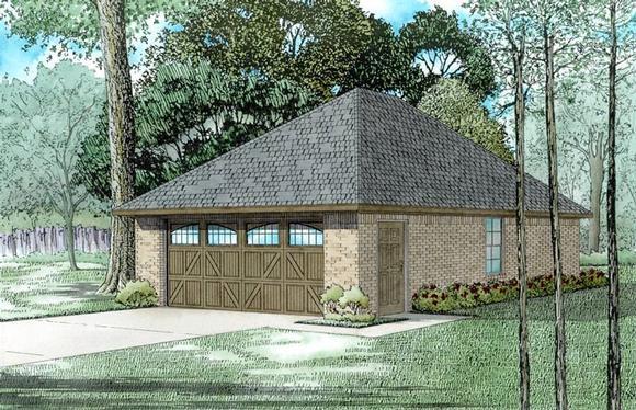Garage Plan 82315