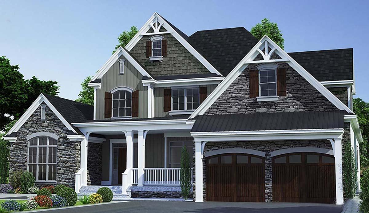 House Plan 82366