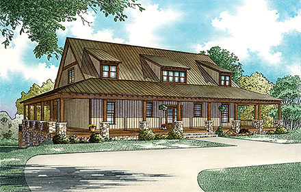 House Plan 82370