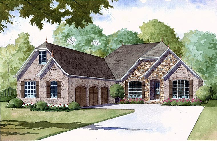 Http Www Familyhomeplans Com Three  Bedroom House Plans Home Designs