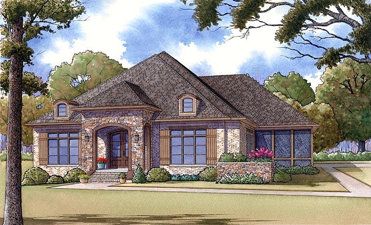 House Plan 82412 Elevation
