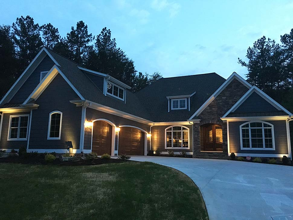 European, French Country House Plan 82419 with 3 Beds, 4 Baths, 3 Car Garage Picture 1