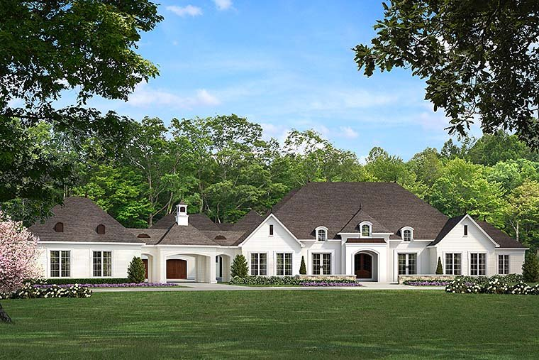 European French Country Traditional House Plan 82481 Elevation