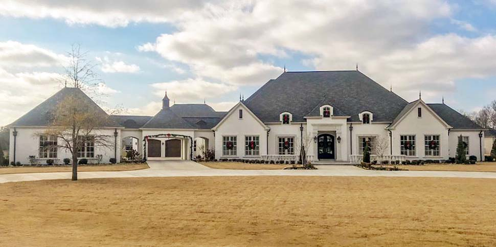 European, French Country, Traditional House Plan 82481 with 5 Beds, 7 Baths, 4 Car Garage Picture 2