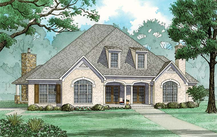 European French Country Traditional House Plan 82485 Elevation
