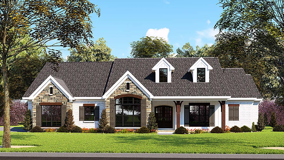House Plan 82555