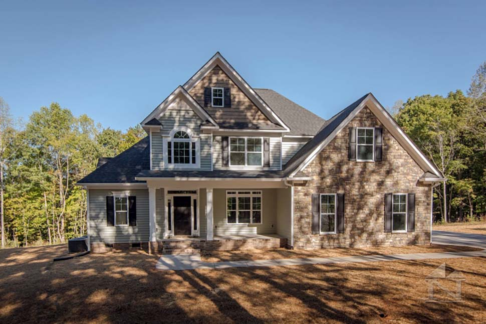 European, Traditional House Plan 83012 with 4 Beds, 3 Baths, 2 Car Garage Picture 1