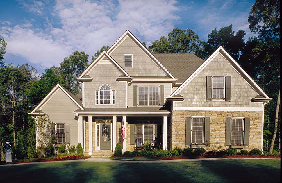 European, Traditional House Plan 83012 with 4 Beds, 3 Baths, 2 Car Garage Picture 3