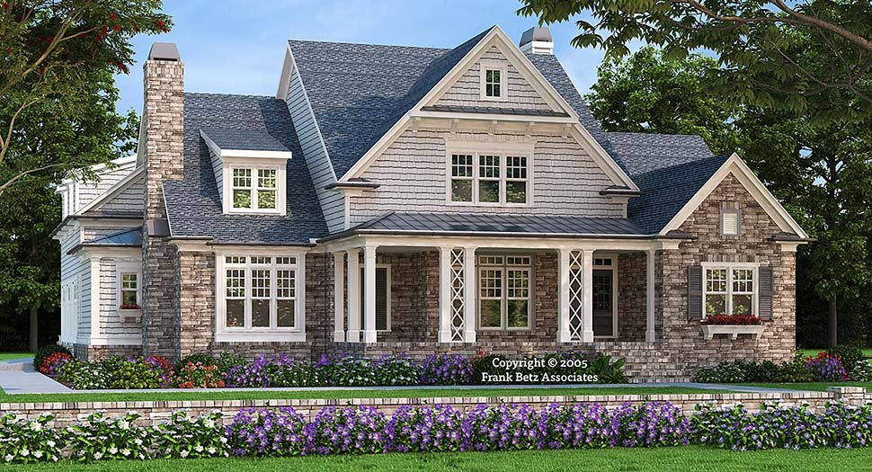 Craftsman Style House Plan 83074 with 4 Bed, 6 Bath, 3 Car Garage on colonial home design, tudor revival home design, craft home design, simplicity home design, contemporary home design, wood home design,