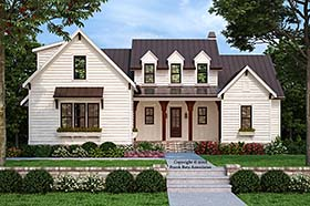 Plan Number 83110 - 2744 Square Feet