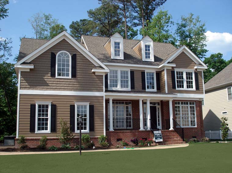 European, Traditional House Plan 83119 with 5 Beds, 3 Baths, 2 Car Garage Elevation
