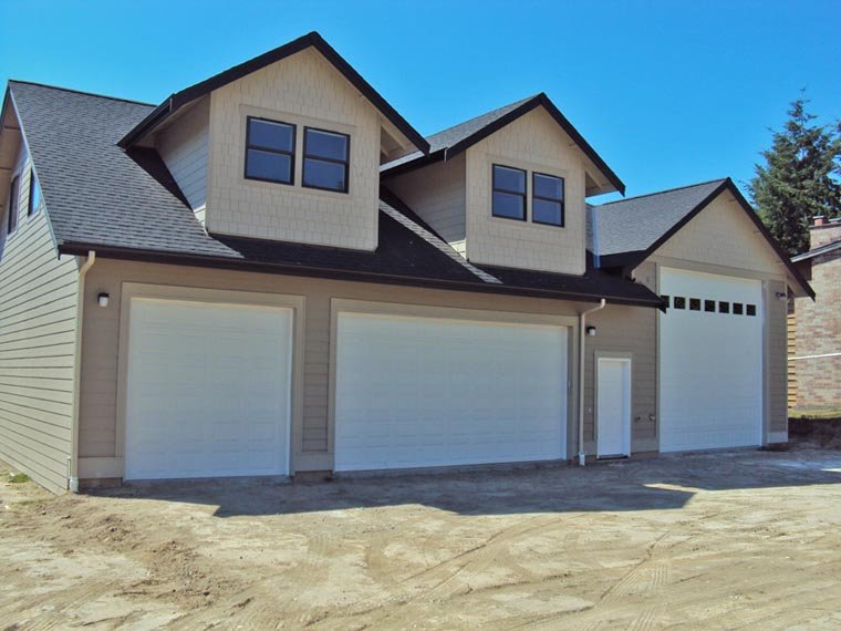 Traditional Style 3 Car Garage Apartment Plan Number 85204 with 2 Bed, 2  Bath, RV Storage