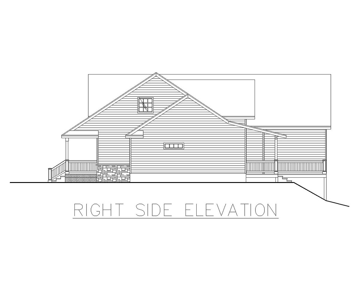 Craftsman, Traditional House Plan 85209 with 4 Beds, 4 Baths, 3 Car Garage Picture 1