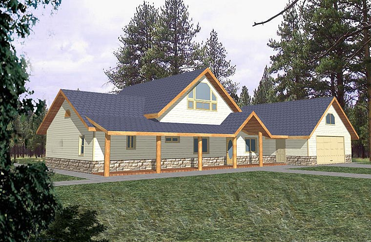 Country Traditional House Plan 85283 Elevation