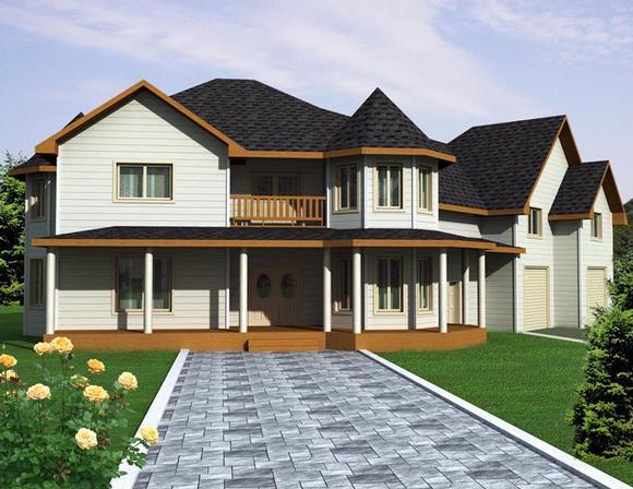 House Plan 85306 with 3 Beds, 3 Baths, 3 Car Garage Elevation