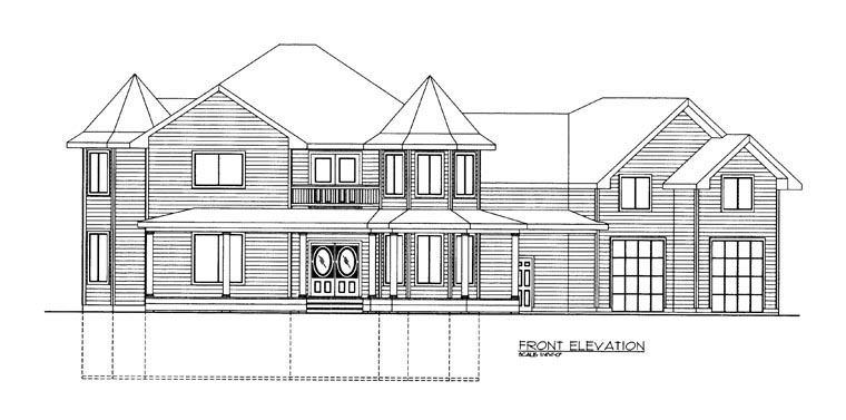 House Plan 85306 with 3 Beds, 3 Baths, 3 Car Garage Picture 1