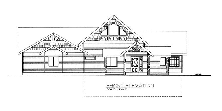 House Plan 85336 with 3 Beds, 3 Baths, 3 Car Garage Picture 2