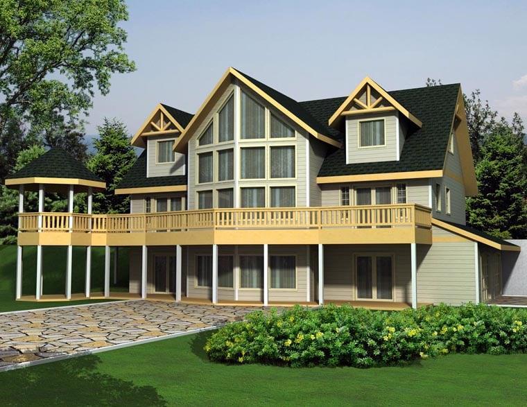 House Plan 85362 Elevation