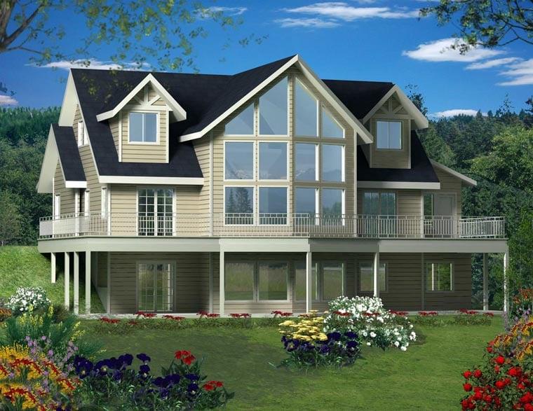 House Plan 85364 At