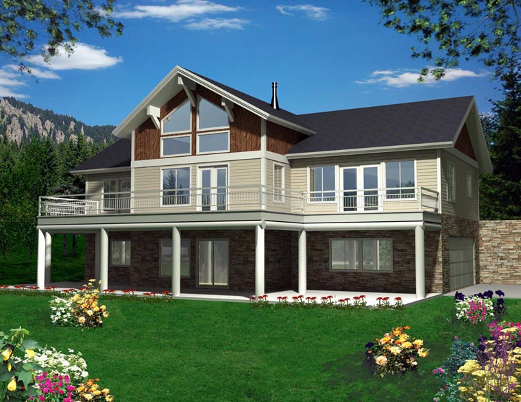 House Plan 85367 Elevation