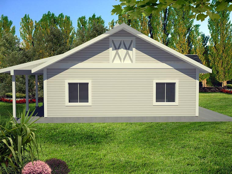 Garage Plan 85398 Elevation
